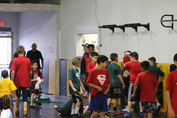 Scorpions Wrestling practice